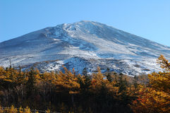 Mount Fuji close up Stock Photo