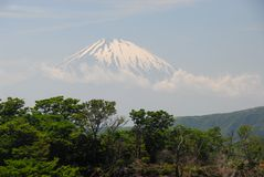 Mount Fuji distance Royalty Free Stock Photos