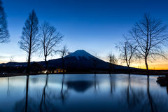 Mount Fuji Fujisan star Stock Images