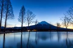 Mount Fuji Fujisan Sunrise Stock Image