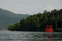 Mount Fuji Hakone Royalty Free Stock Photos