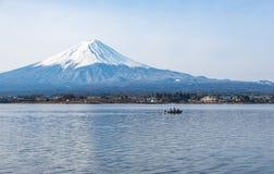 Mount Fuji i morgonen, Japan Arkivbild