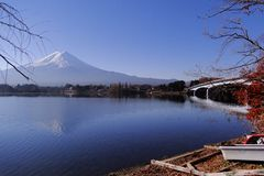 Mount Fuji - an iconic of Japan stock photography