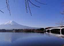 Mount Fuji - an iconic of Japan royalty free stock photo