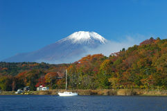 Mount Fuji In Fall 2 Royalty Free Stock Photography