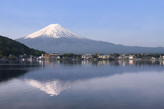 Mount Fuji, Japan. Is the highest mountain in Japan located on Honshu Island royalty free stock photos