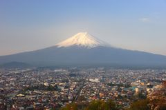 Mount Fuji Japan Royaltyfri Bild