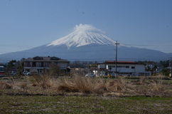 Mount Fuji Japan Royaltyfria Foton