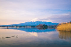 The mount Fuji in Japan Stock Photography