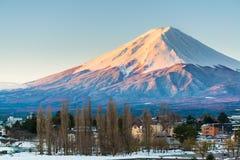 Mount Fuji - Japan. Mount Fuji in the dawn Royalty Free Stock Photography