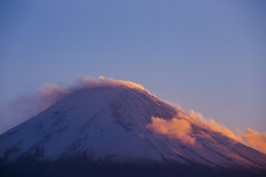 Mount Fuji. Japan Royalty Free Stock Image