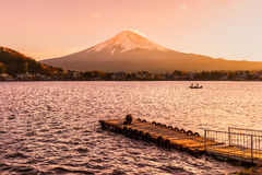 Mount Fuji, Japan. stock photos