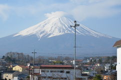 Mount Fuji Japan royalty free stock photo