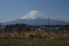 Mount Fuji Japan royalty free stock photography