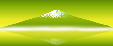 Mount FUJI of Japan National Symbol. vector Stock Images