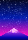 Mount FUJI of Japan National Symbol. vector Stock Photos