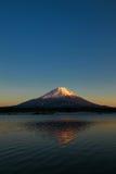 Mount Fuji. Japan, Mount Fuji Sunset tokyo landscape royalty free stock photos