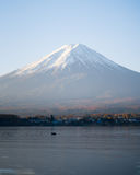 Mount Fuji Kawaguchiko lake Royalty Free Stock Photo