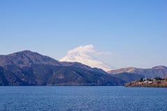 Mount Fuji, Lake Ashinoko, Hakone, Japan Royalty Free Stock Image