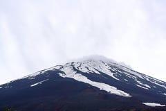 Mount fuji landscape. fuji japan. close-up of Mt Fuji stock image