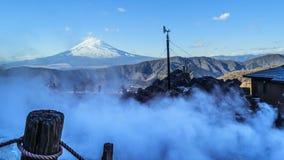 Mount Fuji landscape Royalty Free Stock Images