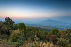 Mount Fuji at Loei Province, Thailand Stock Photos