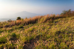 Mount Fuji at Loei Province, Thailand Royalty Free Stock Images