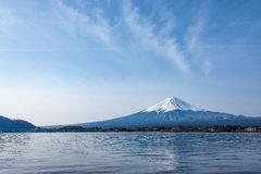 Mount Fuji in the morning,Japan Stock Photo