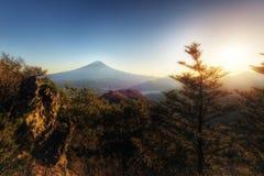 Mount Fuji. Taken in 2015 stock photos
