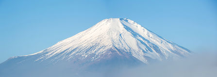 Mount Fuji Panorama Japan Stock Photography