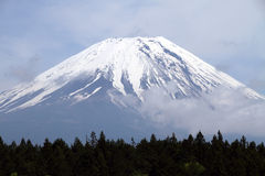 Mount Fuji peak, Japan Stock Image