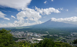 Mount fuji Stock Image
