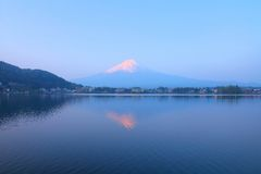 Mount Fuji sunrise Stock Images