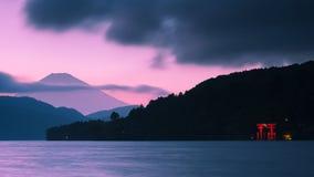 Mount Fuji and Torii Gate Royalty Free Stock Photos