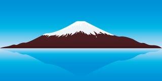 Mount Fuji. Vector illustration of the Fuji Mountain - Japan Royalty Free Stock Photos