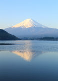 Mount Fuji, view from Lake Kawaguchiko Stock Photos