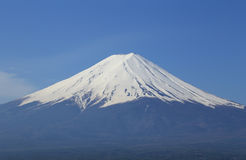 Mount Fuji, view from Lake Kawaguchiko Stock Image