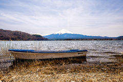 The mount Fuji Royalty Free Stock Photography