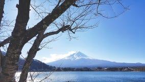 Mount Fuji viewpoint at Kawaguchiko royalty free stock photo