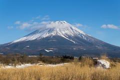 Mount Fuji in winter Stock Photos