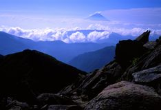 Mount Fuji XL Royalty Free Stock Photo