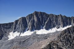 Mount Goode North Face stock image