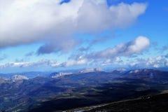 Mount Gorbea stock image