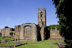 Mount Grace Priory. Is the best preserved and most accessible of the ten Carthusian charterhouses in England Royalty Free Stock Images