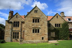 Mount Grace Priory Manor House. The Manor House of Mount Grace Priory in North Yorkshire, England Royalty Free Stock Photos