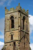 Mount Grace Priory Tower. The remains the the Carthusian priory -  Mount Grace Priory in North Yorkshire, England Stock Photography