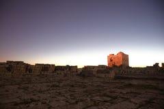 Mount Greizim of Samaritans Stock Photography