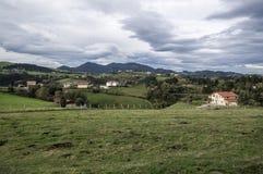 Mount in Guipuzcoa Stock Photo