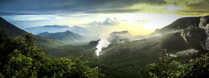 Mount Guntur Stock Photography