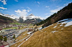 Mount Hahnen of Urner Alps Royalty Free Stock Photos